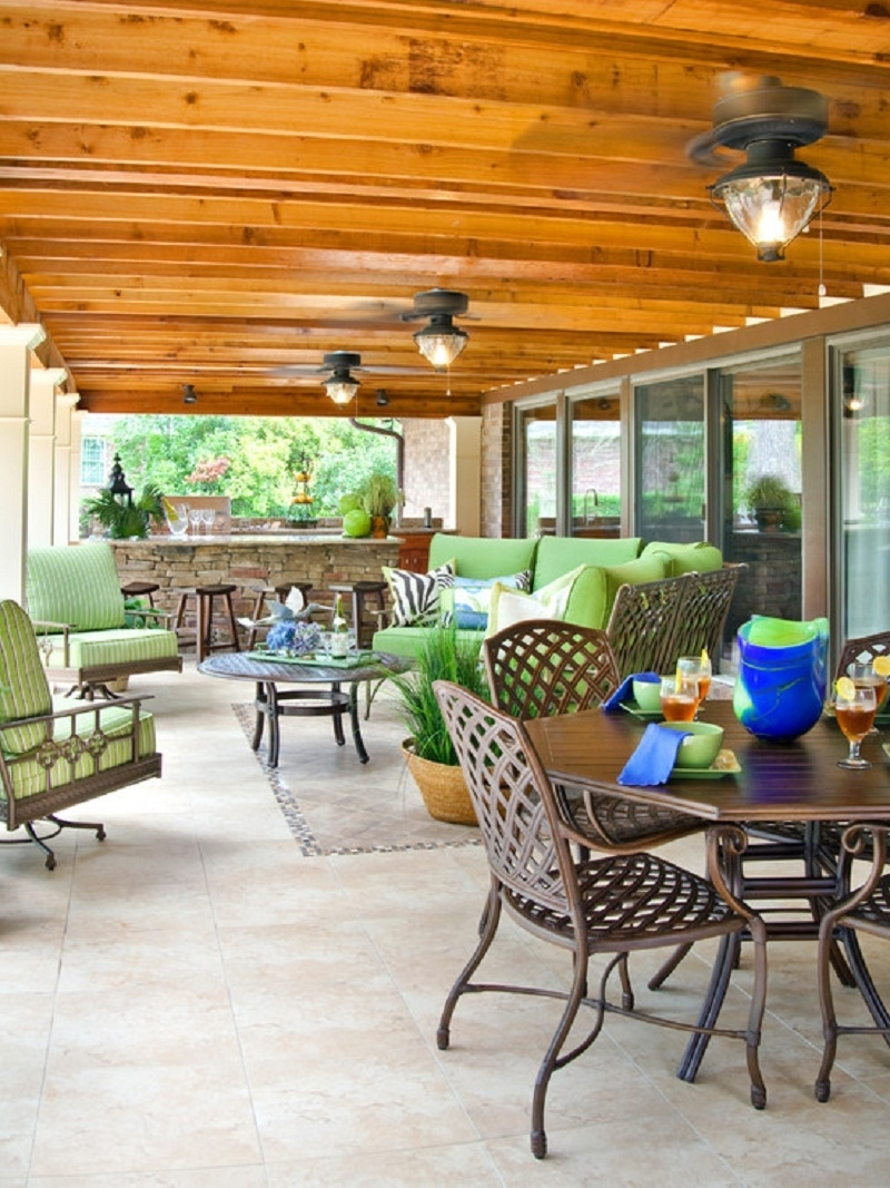 Ventiladores Decorativos Displaying Gallery Of Outdoor Patio Ceiling Fans With Lights View