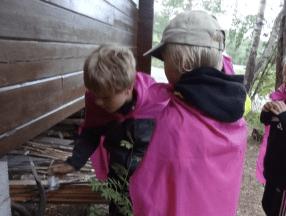 Viikinkiseikkailu saattaa olla välillä hiukan jännittäväkin