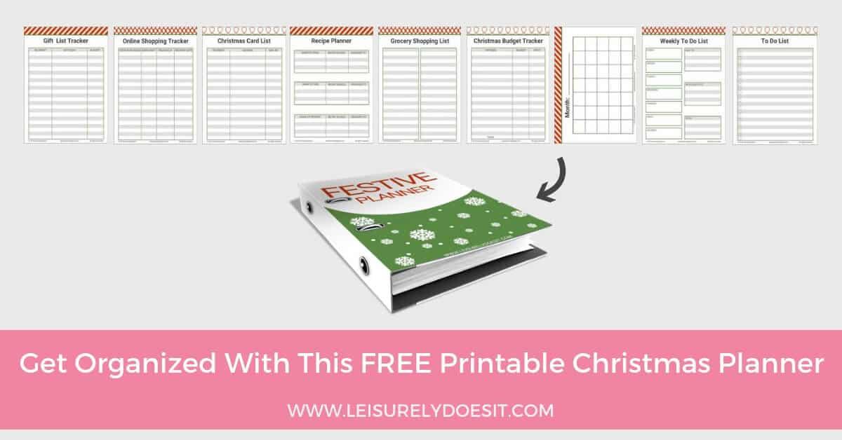 A Typical English Home Free Printable Christmas Planner (2014)free