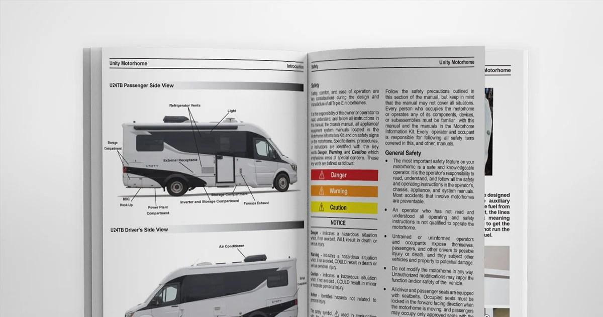 Owner\u0027s Manuals - Leisure Travel Vans