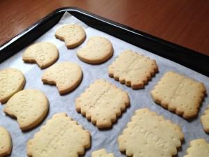 citroen-vanille-koekjes op bakplaat
