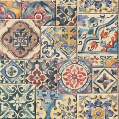 Marrakesh Tile Wallpaper - Lelands Wallpaper
