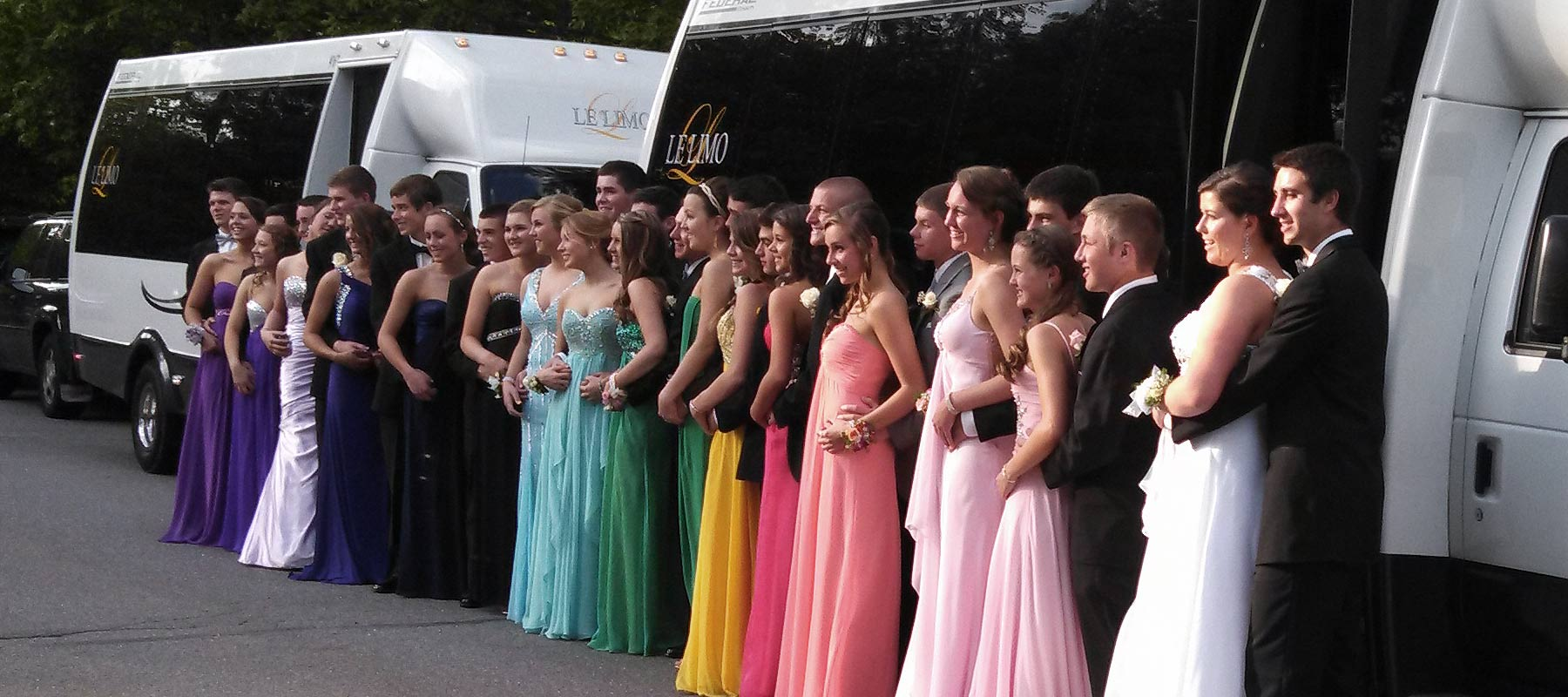 Limo Prom Prom Night Limousine And Party Bus Rentals Le Limo