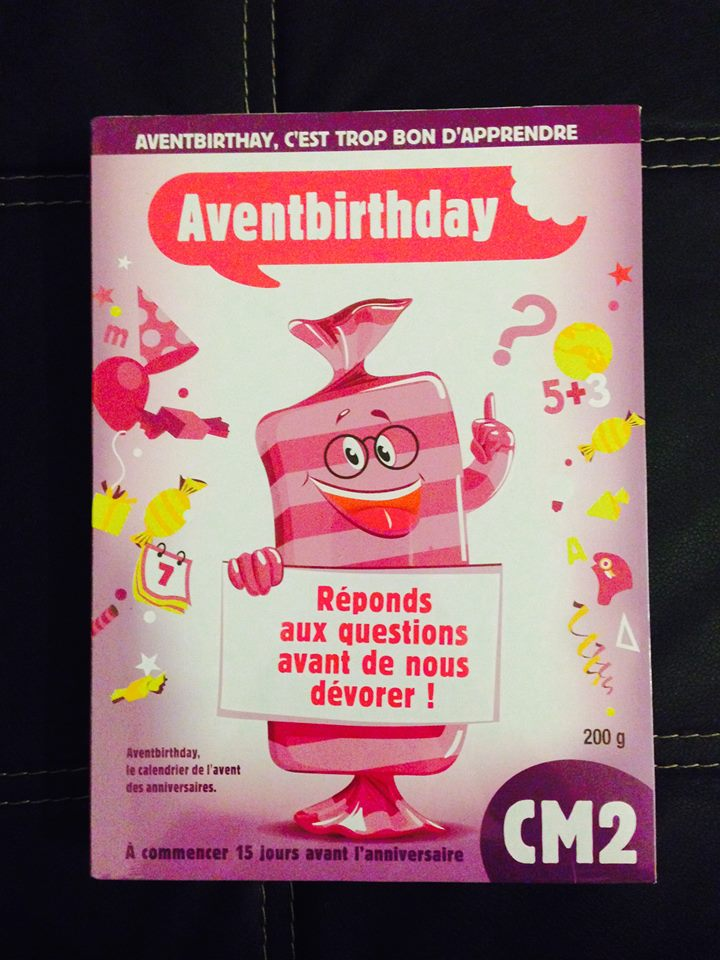 Qui a dit qu'un anniversaire se fetait seulement le jour meme ?? Test & Avis de l'AVENTBIRTHDAY
