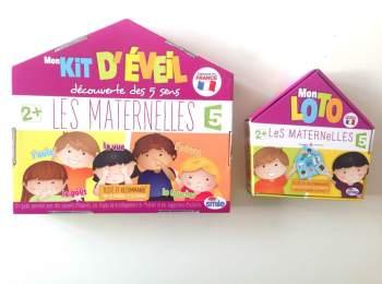 {TEST & AVIS } Ses premiers jeux de société avec LES MATERNELLES – ABYSMILE !