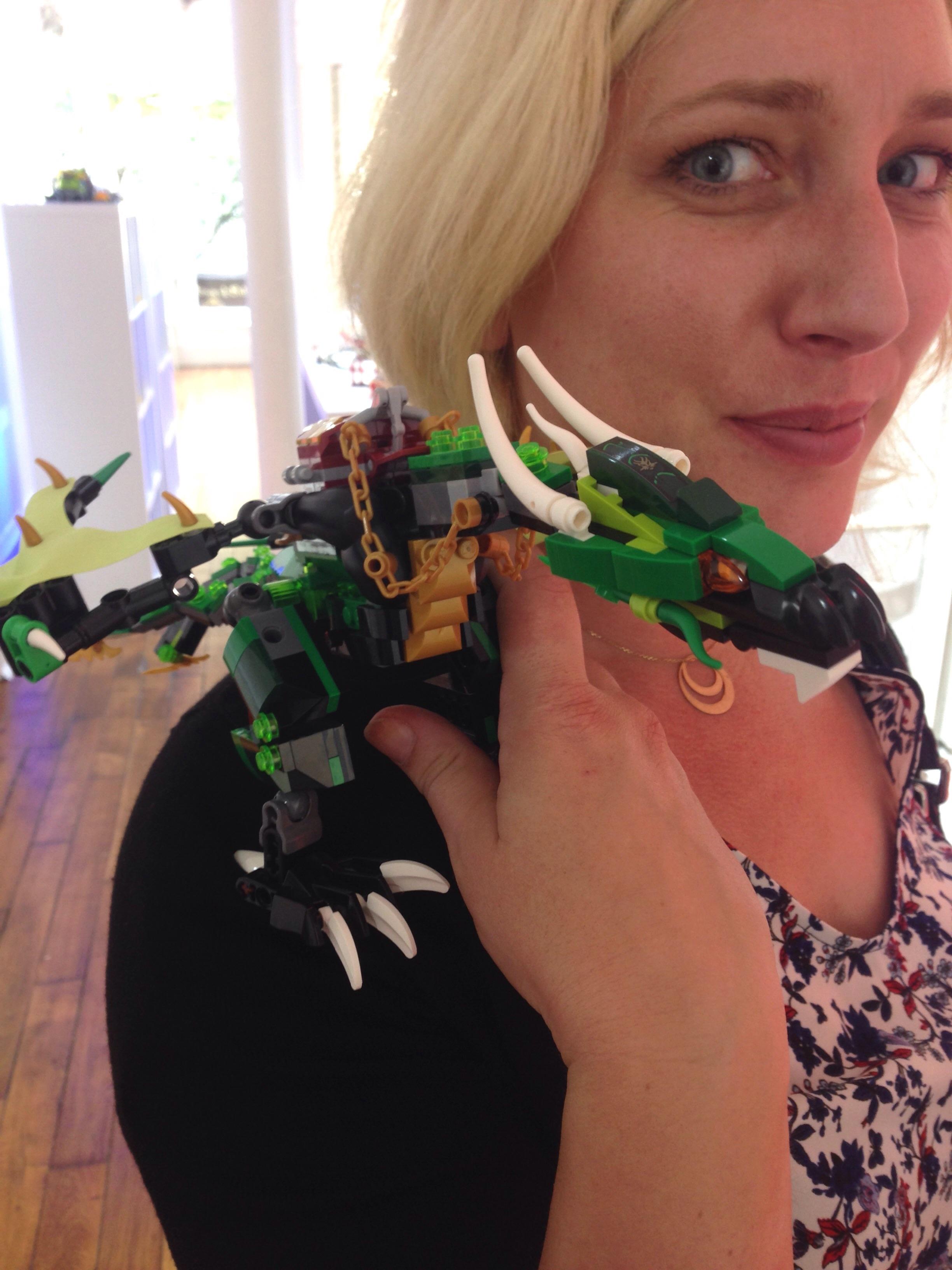 LEGO - NINJAGO - Le dragon emeraude de LLOYD - Référence : 70593 (environ 55 €)