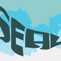 A seal made of text by John LeMasney via 365sketches.org #design #typography #Inkscape