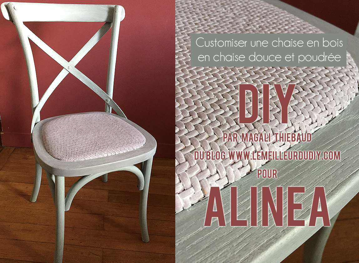 Customiser Une Chaise En Bois Diy Customiser Une Chaise En Bois En Chaise Douce Et