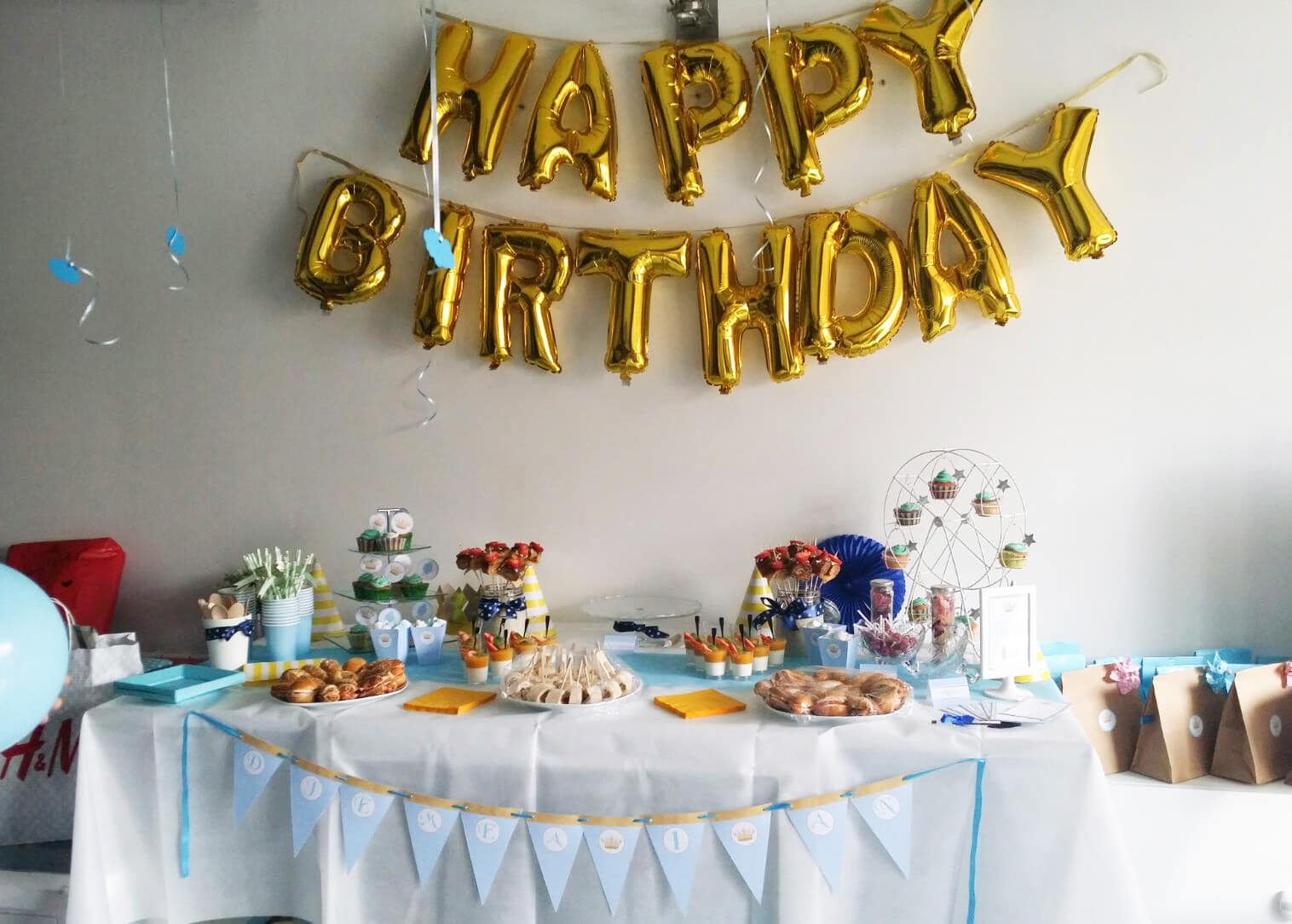 Deco De Table Anniversaire Deco Table Anniversaire Bebe 1 An