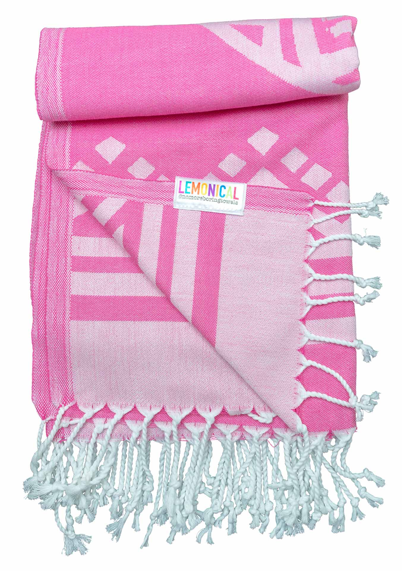 Pink Towels Pink Elephant Towel For Beach Bath And Travel Lemonical