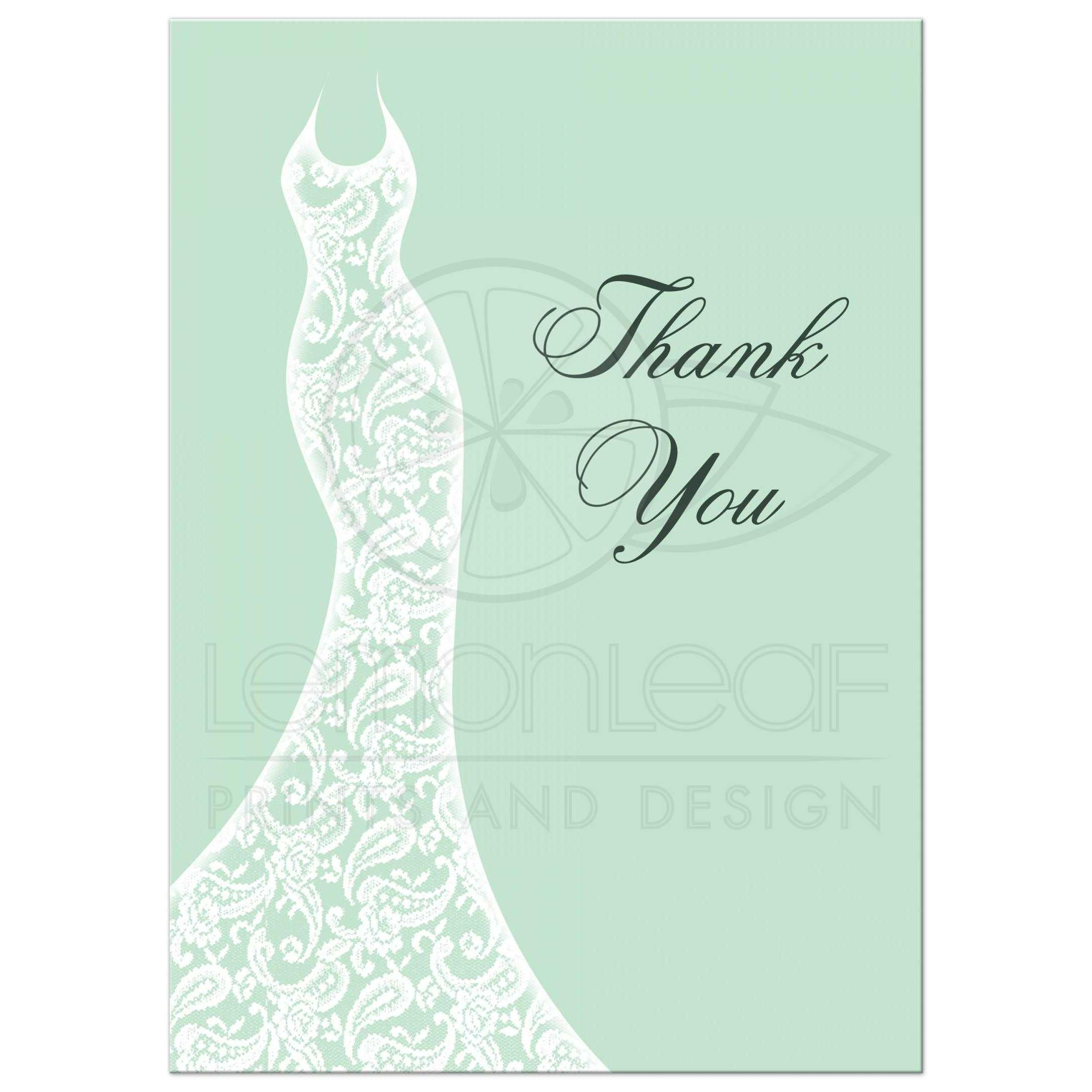 Fullsize Of Bridal Shower Thank You Cards