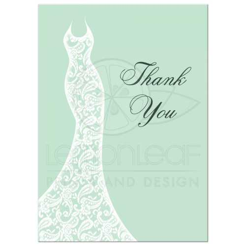 Medium Of Bridal Shower Thank You Cards