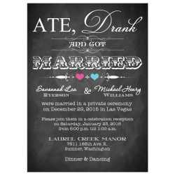 Small Crop Of Wedding Reception Invitations