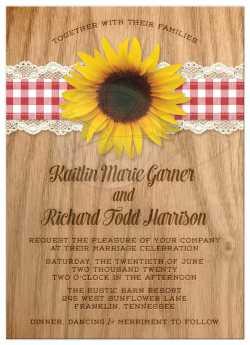 Small Of Sunflower Wedding Invitations