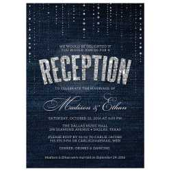 Small Crop Of Wedding Reception Invitations