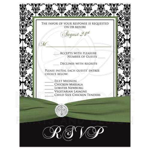 Medium Of Rsvp Card Size