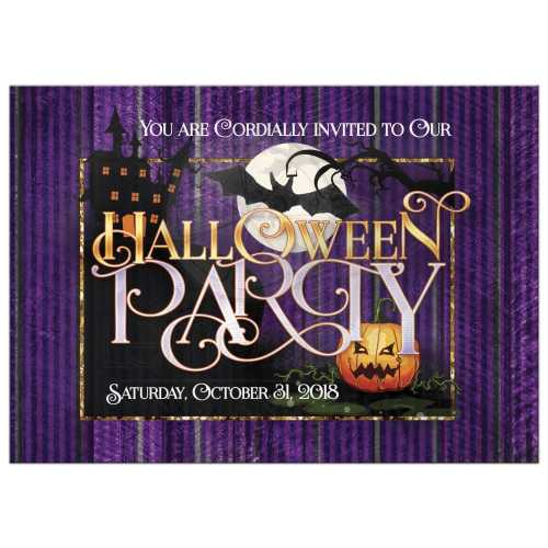 Medium Crop Of Halloween Party Invitations