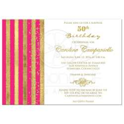 Small Crop Of 50th Birthday Invitations