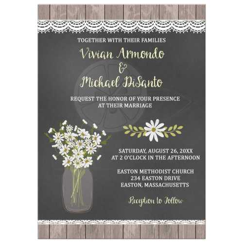 Medium Crop Of Rustic Wedding Invitations