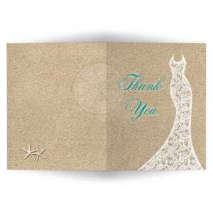 Endearing Turquoise Type Bridal Shower Thank You Card Beach Turquoise Vertical Bridal Shower Thank You Cards Examples Bridal Shower Thank You Cards Knot Beach Bridal Shower Thank You Card