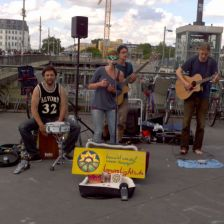Warschauer Straße, Berlin / Straßenmusiktour 2016