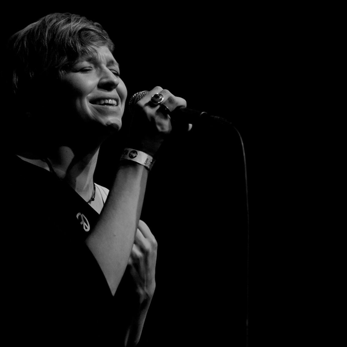 Live @ POP Secret / ATAK Enschede 2014. Photo: Carina Scheiberlich