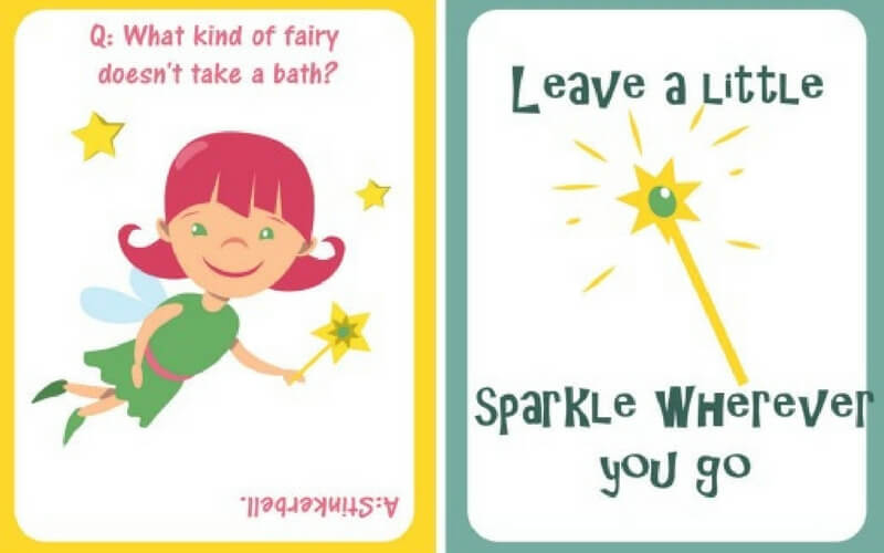 Super Sweet Printable Fairy Tale Lunch Notes