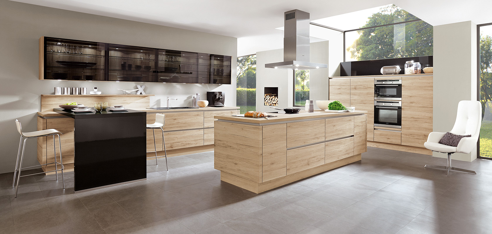 Nobilia Küche Riva Eiche Ontario German Kitchens Bespoke Kitchen Lemon And Lime Interiors