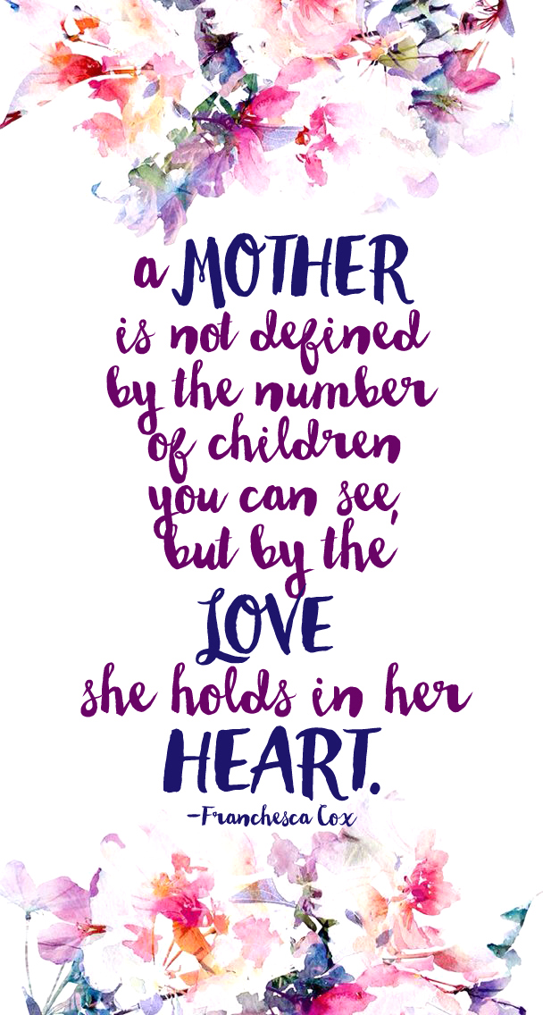 a Mother is Not Defined...