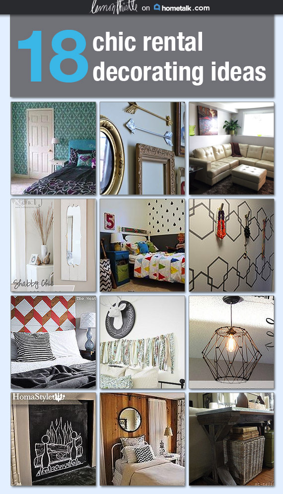 Rental Decor Ideas- a Hometalk clipboard by Lemon Thistle