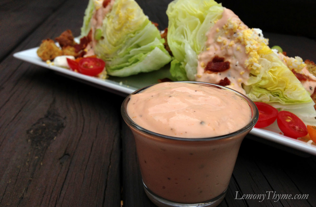 Farmhouse Rules Salad Recipes Loaded Wedge Salad Lemony Thyme