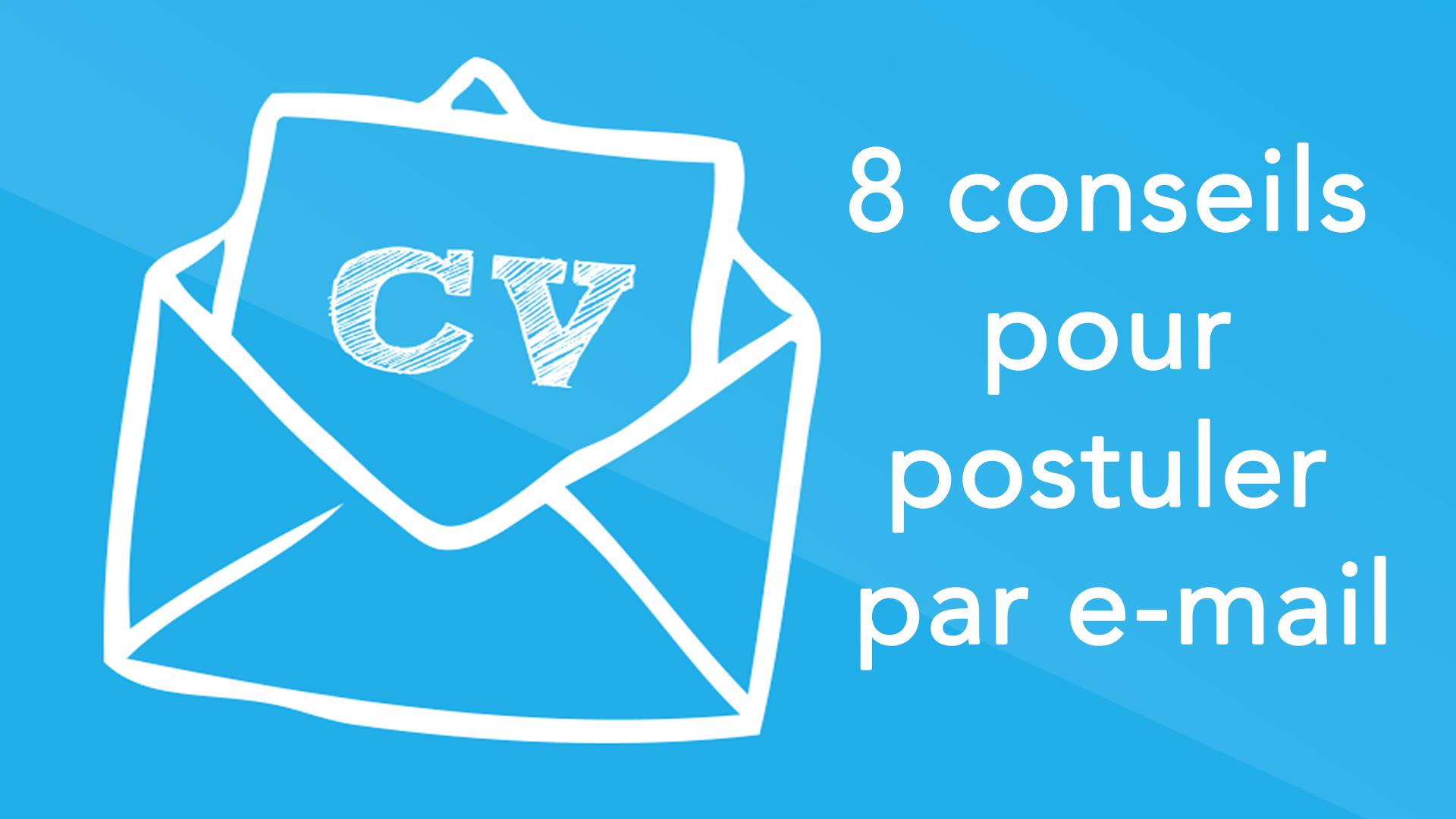 exemple mail pour envoi de cv et lm