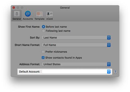 Contacts \u2013 default account \u2013 Lena Shore - family address book