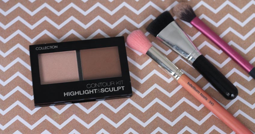 Collection Contour Kit Highlight and Sculpt with Lena Talks Beauty