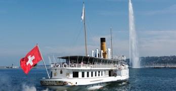 Delightful boat cruises on Swiss lakes