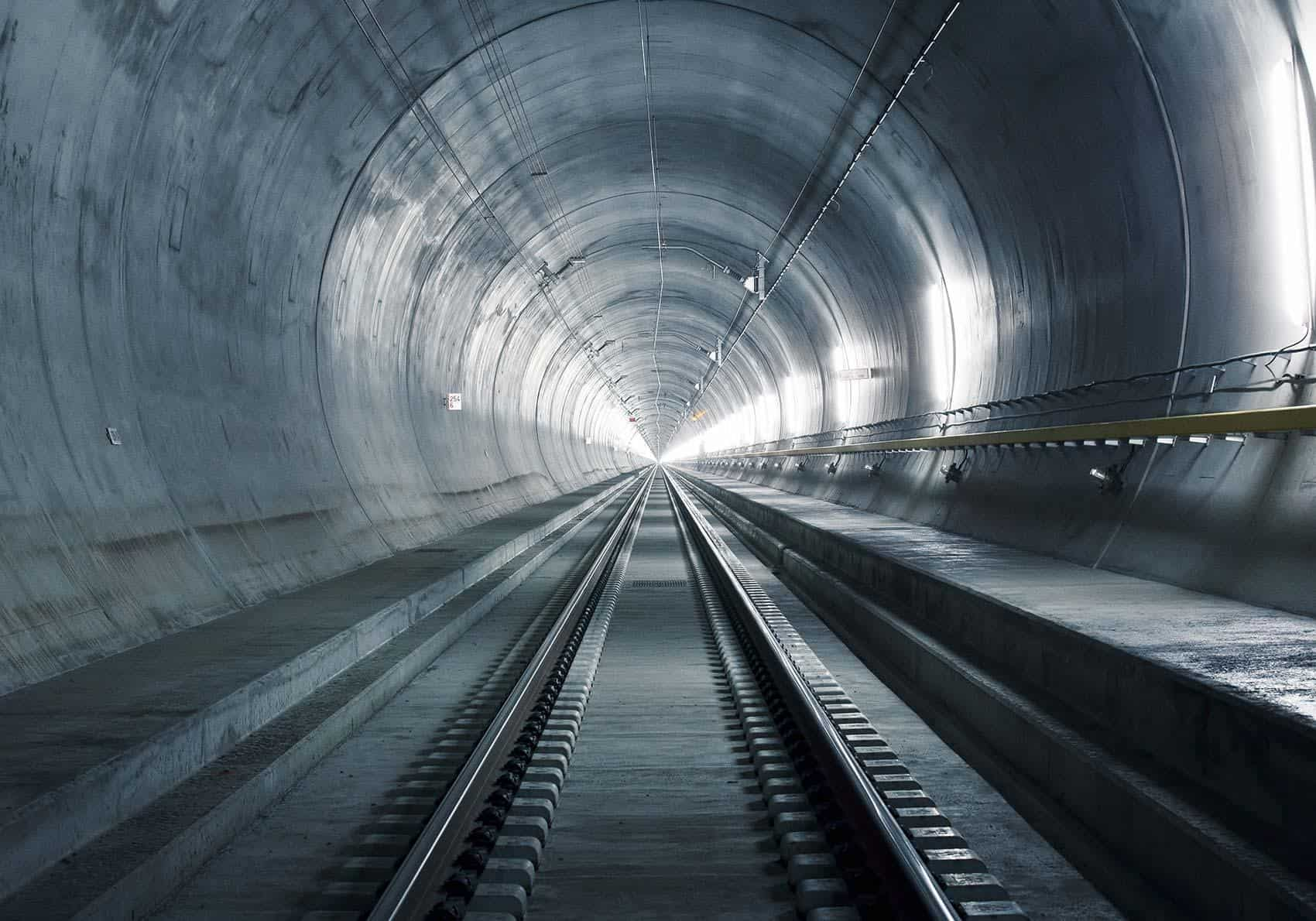 Gotthard base tunnel - Copyright 2016 Gottardo