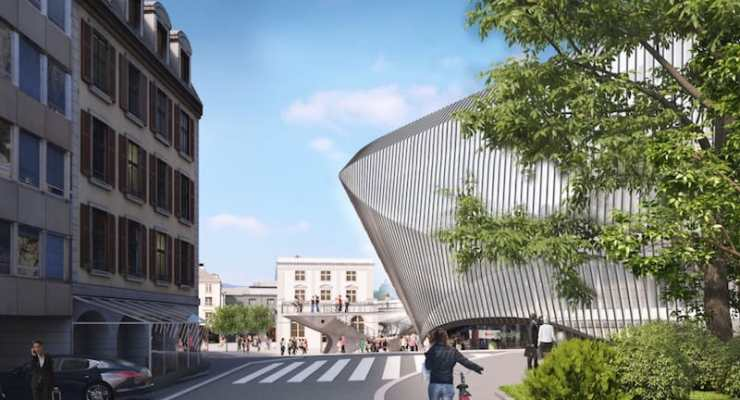 Plans unveiled for an exciting new building in Zurich