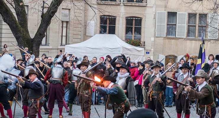 Geneva's Escalade festival promises to repulse Savoyard attacks from 9 Dec