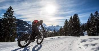 Switzerland's newest winter sport – fatbiking is way more fun than it sounds