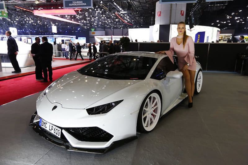 Geneva motor show wishes women a beautiful and sweet day - Geneva car show ...