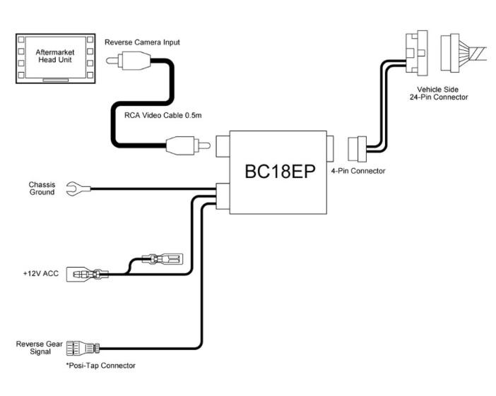 backup camera wiring manual