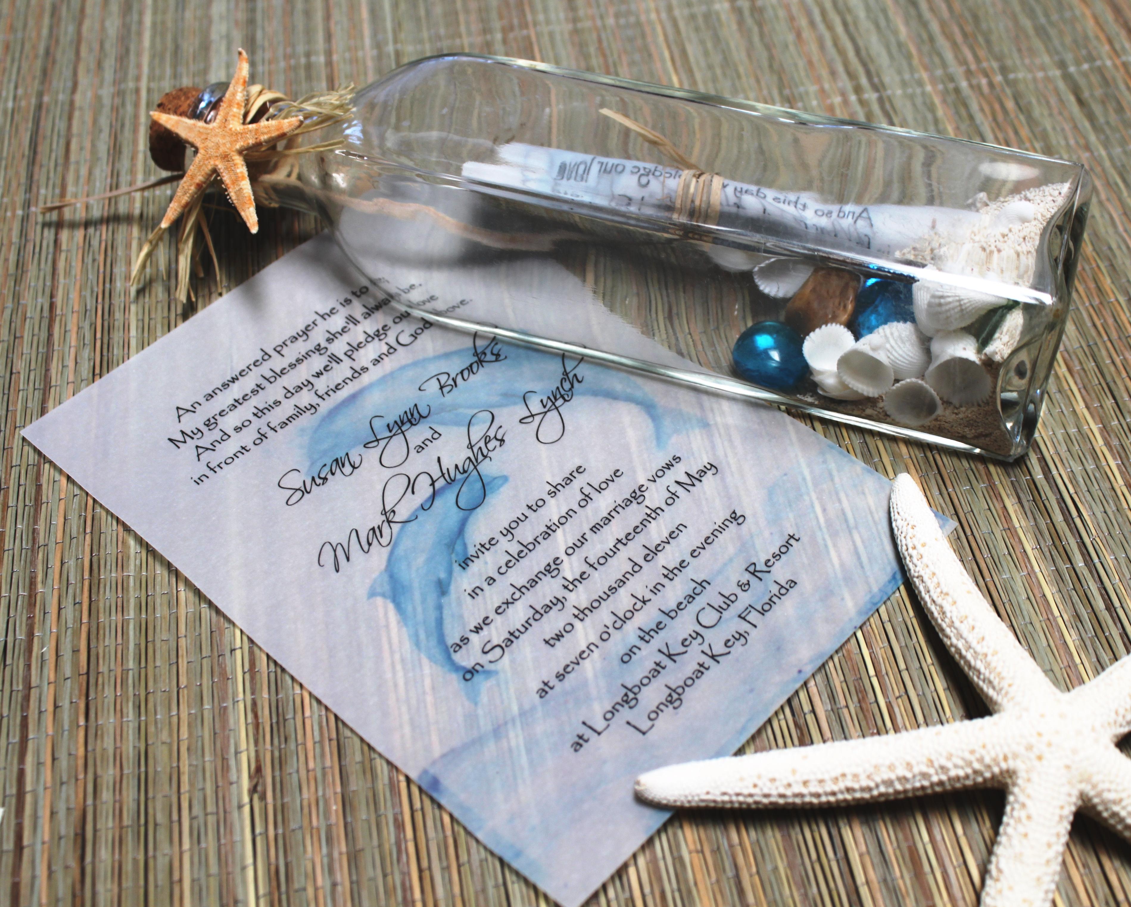 tropical wedding invitations wedding invitations beach theme Beach Wedding Invitation