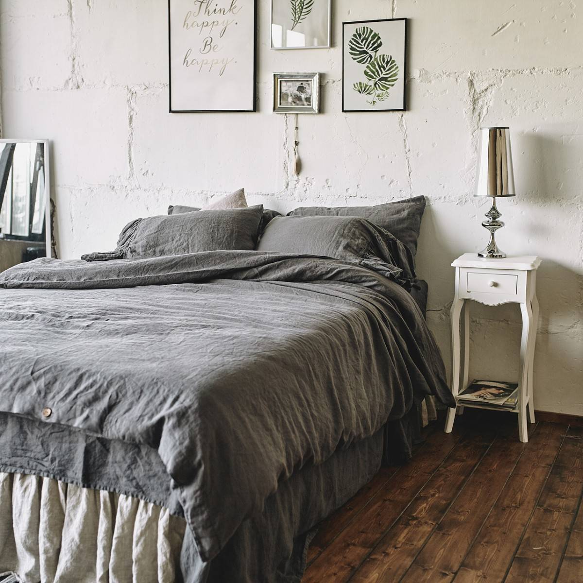 Charcoal Grey Bedding Charcoal Gray Linen Duvet Cover Len Ok