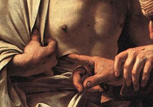 Caravage-L'incrédulité-de-Saint-Thomas-1601-détail- - copie