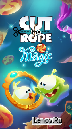 Cut the Rope: Magic v 1.0.0 Мод (Infinite crystals/Unlock all chapters)