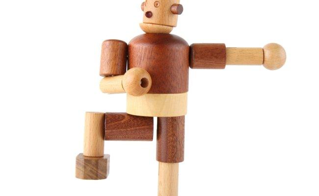 Leo Bella Soopsori Wooden Robot
