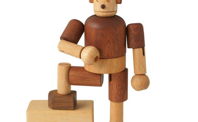 Soopsori Wooden Robot Leo Bella