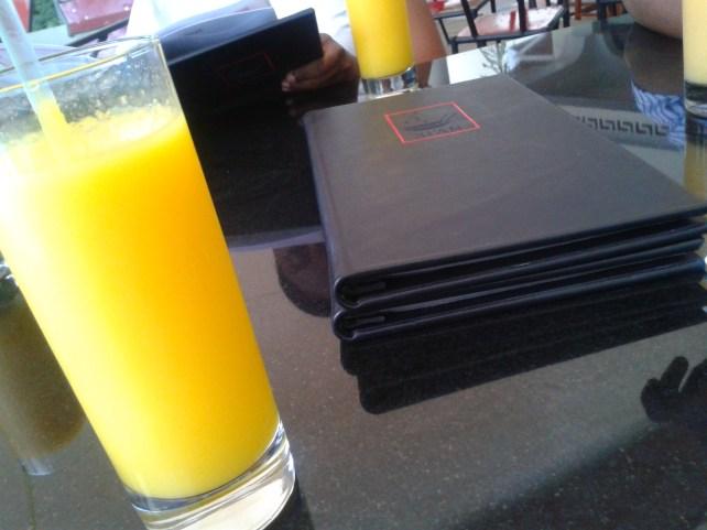 Mango juice - yummy