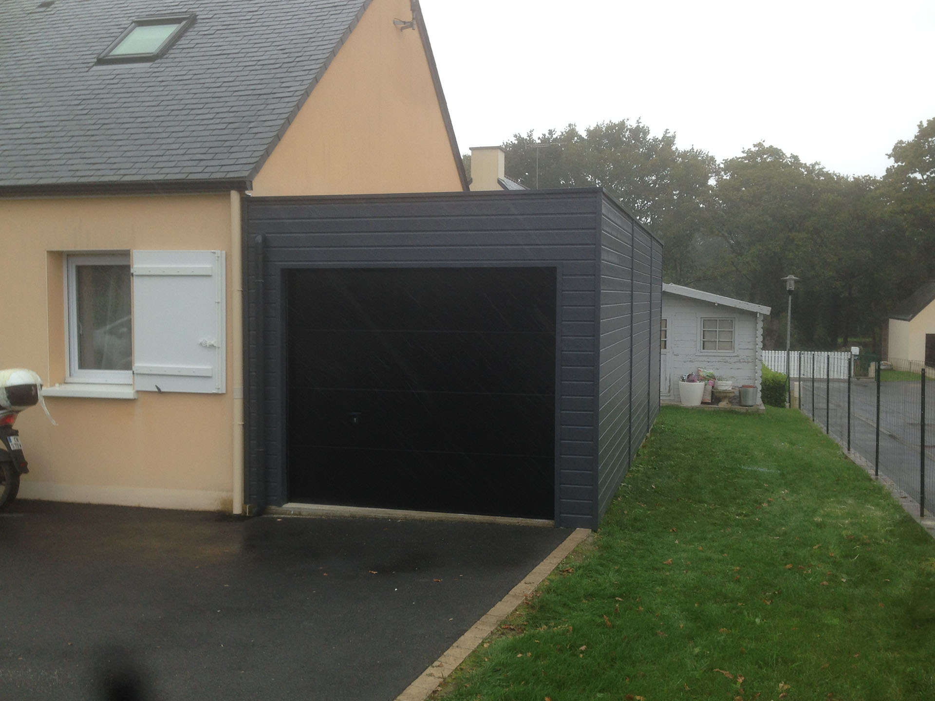 Maison Toit Plat Ou Traditionnel Garage Sur Mesure En Bretagne
