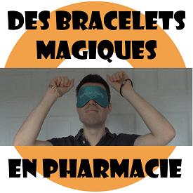 Des bracelets magiques en pharmacie : bracelet magnétique et en germanium